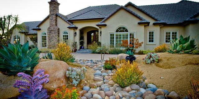 Fascinating water saving landscaping ideas photos best for Water saving garden designs